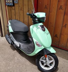 Genuine Scooters 2020 Seafoam Genuine Buddy 50cc Moped