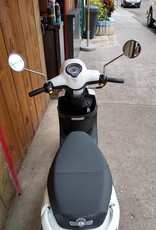 Genuine Scooters 2020 White Genuine Buddy 50cc Moped