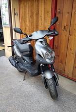 Genuine Scooters 2021 Matte Titanium Genuine Roughhouse Sport 50cc Moped