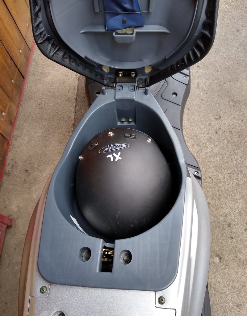 Genuine Scooters 2019 Matte Black Genuine Roughhouse 50cc Moped