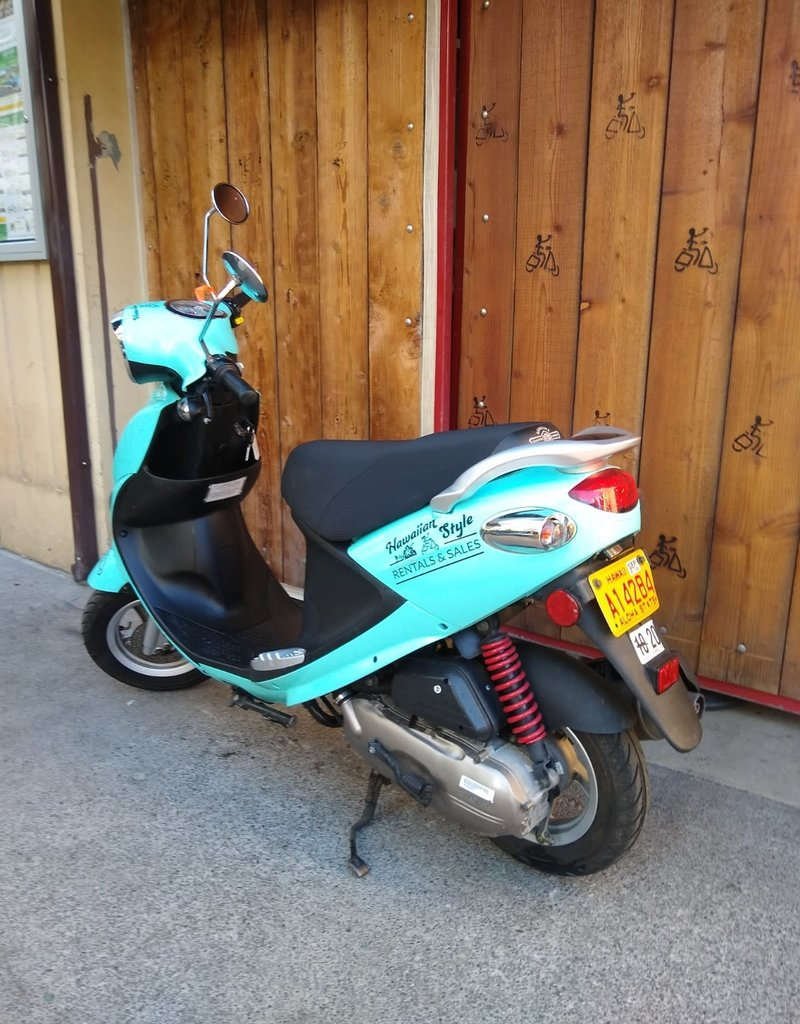 Genuine Scooters 2020 Turquoise Genuine Buddy 50cc Moped (#38)