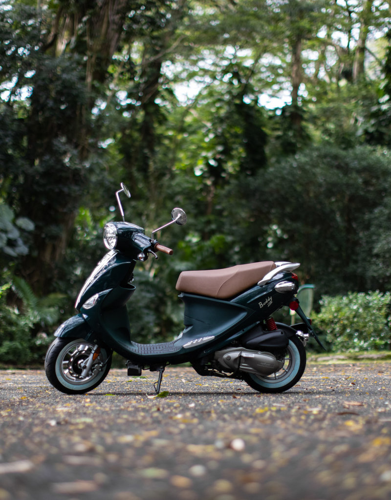 Genuine Scooters 2020 Brit Racing Green Buddy 170i Scooter