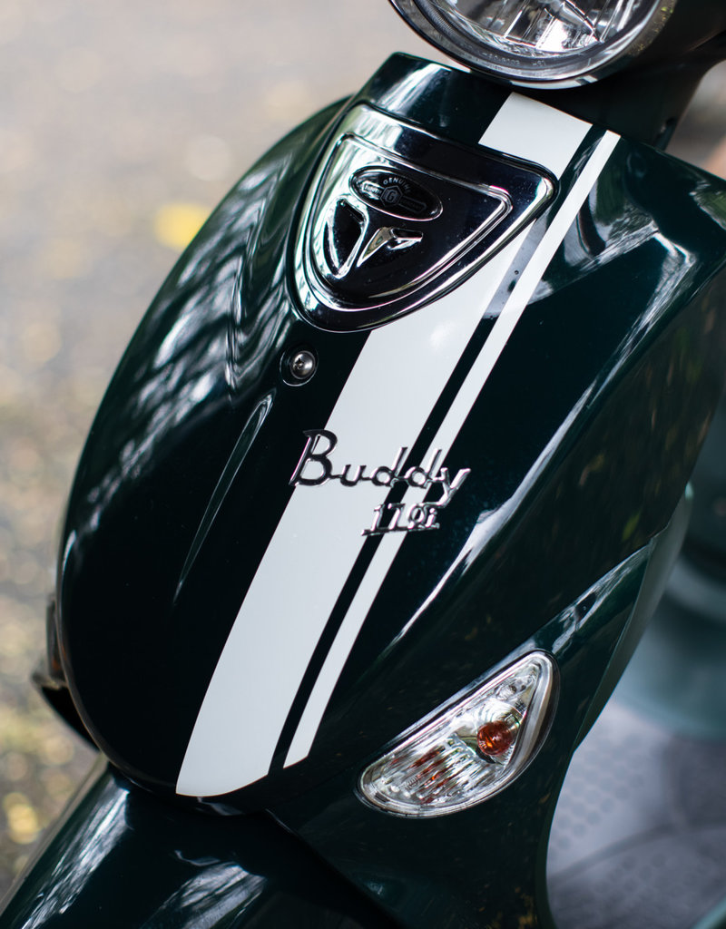 Genuine Scooters 2021 Brit Racing Green Buddy 170i Scooter