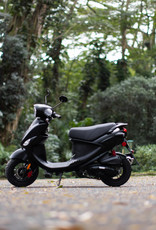Genuine Scooters 2021 Matte Black Genuine Buddy 170i Scooter