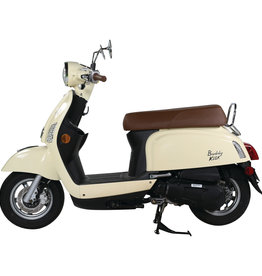 Genuine Scooters 2021 Vanilla Genuine Buddy Kick 125cc Scooter