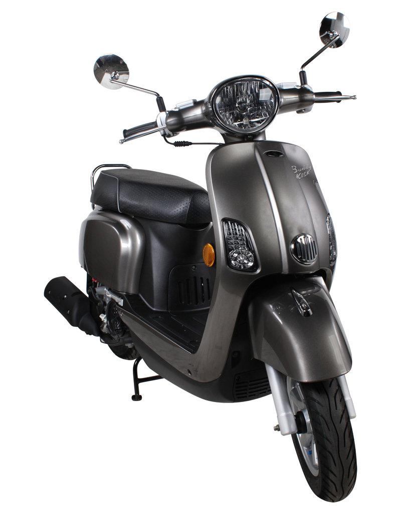 Genuine Scooters 2021 Titanium Genuine Buddy Kick 125cc Scooter