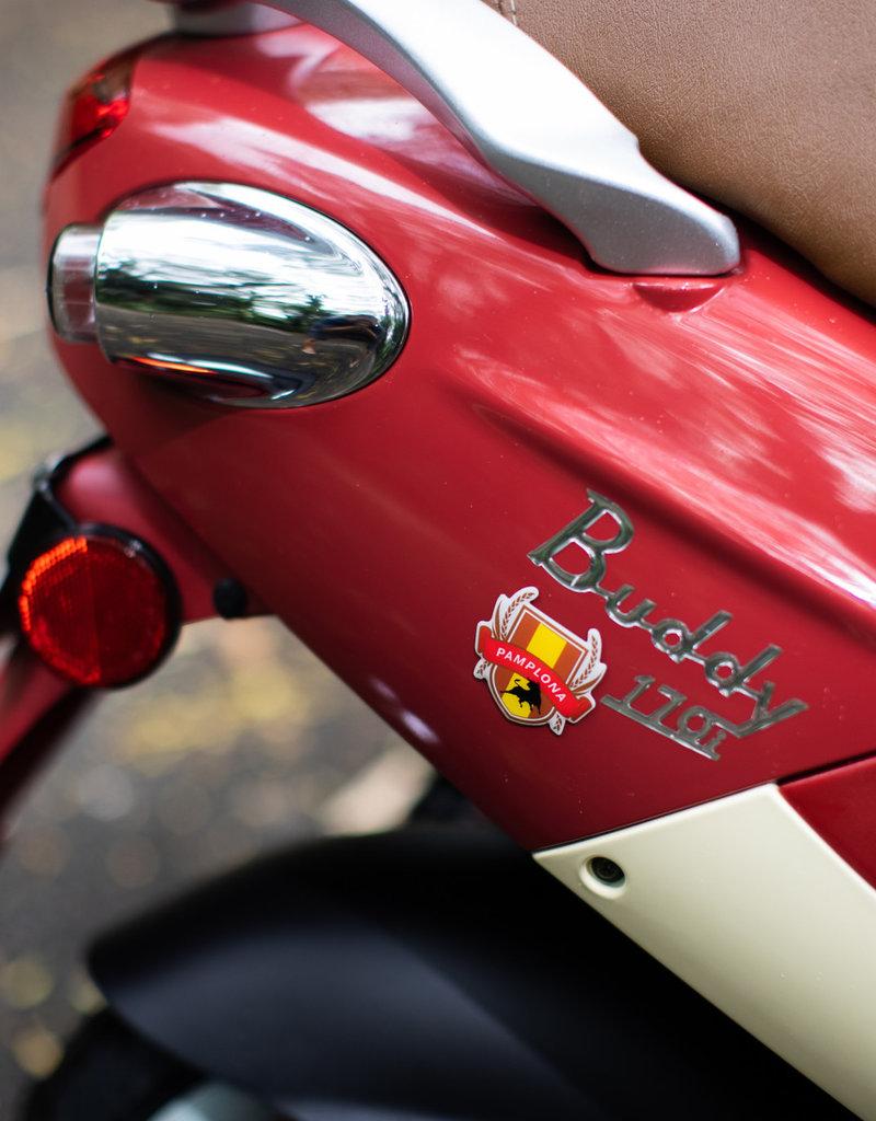 Genuine Scooters 2021 Pamplona Genuine Buddy 170i Scooter
