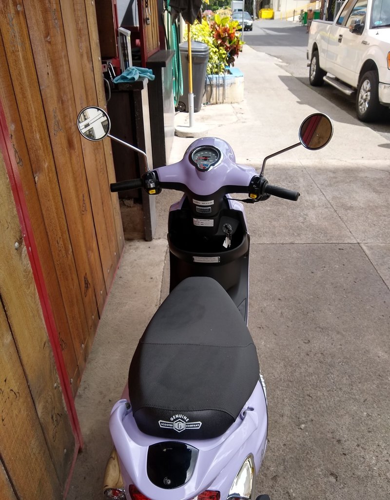Genuine Scooters 2021 Lavender Genuine Buddy 50cc Moped