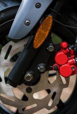 Genuine Scooters 2022 Matte Black Genuine Roughhouse Sport 50cc Moped