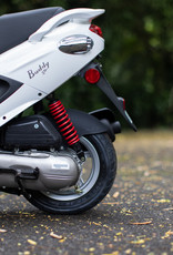 Genuine Scooters 2022 White Genuine Buddy 50cc Moped