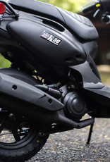 Genuine Scooters 2022 Matte Black Genuine Roughhouse 50cc Moped