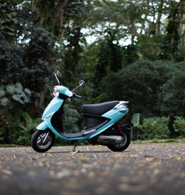 Genuine Scooters 2022 Turquoise Genuine Buddy 50cc Moped