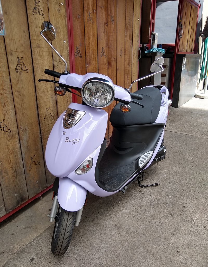 Genuine Scooters 2022 Lavender Genuine Buddy 50cc Moped