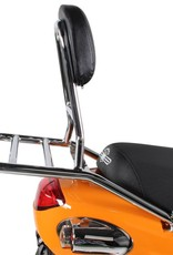 Prima Buddy Prima Rear Rack Chrome w/ Backrest