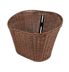 Scooter Works Wicker Front Basket, Buddy (BASKETBUD1WICKER)