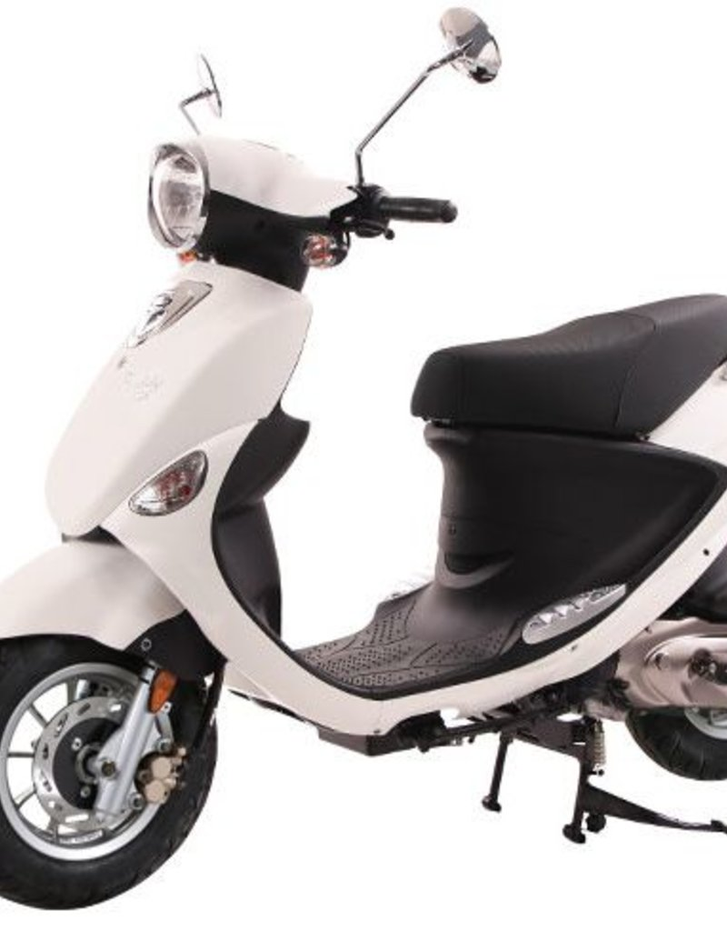 Genuine Scooters 2020 White Genuine Buddy 125