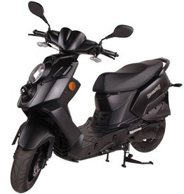 Genuine Scooters 2020 Matte Black Genuine Hooligan 170i cc Scooter