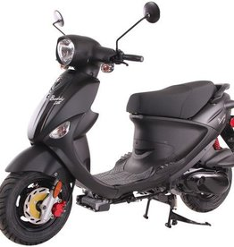 Genuine Scooters 2020 Matte Black Genuine Buddy 170i