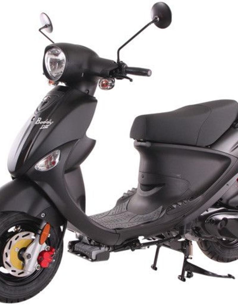 Genuine Scooters 2020 Matte Black Genuine Buddy 170i