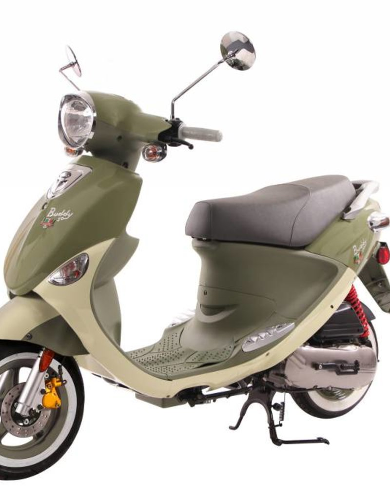 Genuine Scooters 2020 Genuine Buddy 50cc International Italia