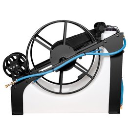 Sapphire Scientific Water Pond - 120 Gal - 250' of Vac Hose - Elec Vac Reel -