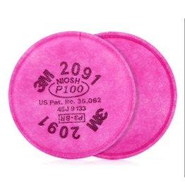 3M 3M® Respirator Filter P100 (2PK)