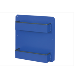 Hydramaster Shelf, Two-Bin Back Door Shelf Assembly (Blue)
