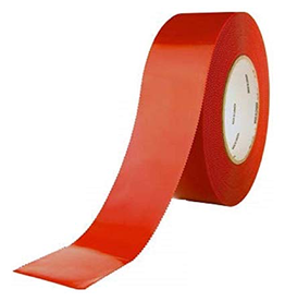 "CleanHub Poly Tape, Red 2"" - Each"