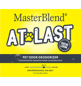 MasterBlend At Last Pet Odor Deodorizer - 1 Gallon