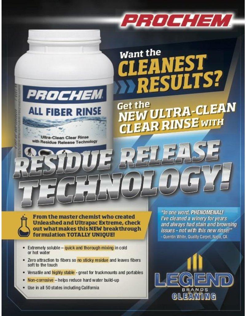 Prochem New! Powdered Acidic All Fiber Rinse Ph 4.5