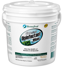 Benefect® Botanical Disinfectant Wipes, Pail