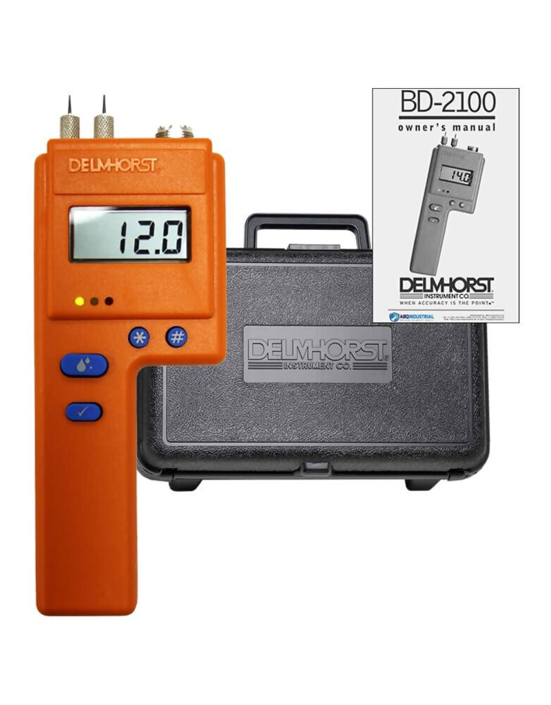 Delmhorst BD-2100 Meter With Case