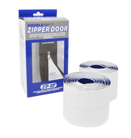 Zip-Up® 7.3 - Twin Pack Cloth Zipper - Retail Box