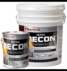Fiberlock Technologies RECON ULTRA - Smoke Odor Sealer - White - Case 4 Gallon