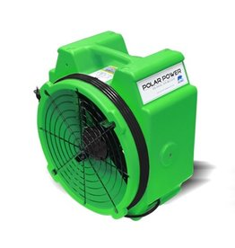 B-Air Axial Air Mover - POLAR BEAR, 2.8AMP, 1/4HP, 2/SPEED (GREEN/BLUE/RED)