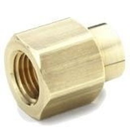 Parker Brass - 1/2 X 3/8 REDUCING COUPLING