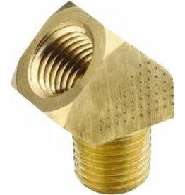 Parker Brass - 1/4 45 STREET ELBOW
