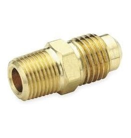 Parker Brass - 1/4 X 1/8 COUPLING MALE FLARE X MIP
