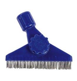 "CleanHub Grout Brush, 5"" SS Bristle"
