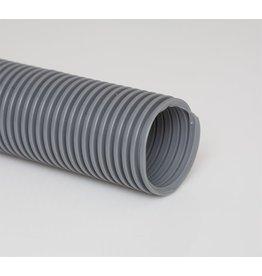 "CleanHub Hose, Vac Flexible 1.5"" X 50' Plain Cut - Gray"