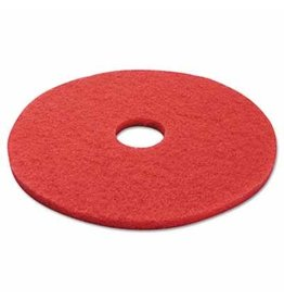"PAD - 17"" RED BUFF, Each"