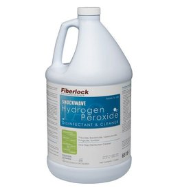 Fiberlock Technologies ShockWave H2O2 - Hydrogen Peroxide Disinfectant - 1 Gallon