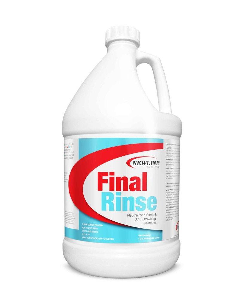 Newline Industries Final Rinse| Neutralizing Rinse & Anti-Browning Treatment