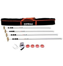 ZipWall ZipWall® ZipPole 4-Pack - 12' Aluminum