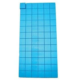 CleanHub Case of Blocks - Blue Foam 12 Sheets (1008 Individual Blocks)