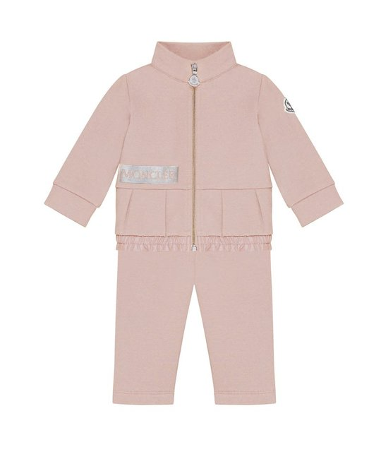 MONCLER MONCLER BABY GIRLS JOGGING SUIT