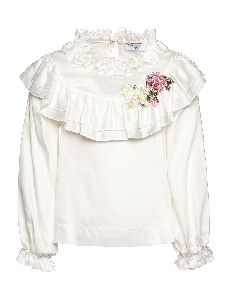 cedf985c973a4 MONNALISA MONNALISA GIRLS TOP - Designer Kids Wear