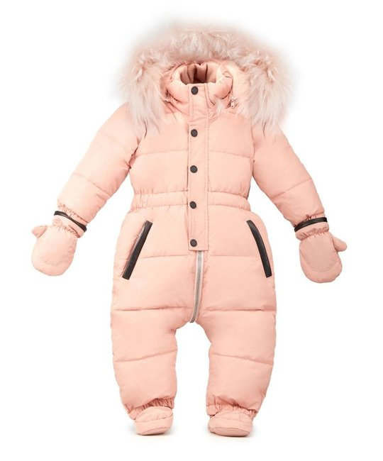 RUDSAK RUDSAK BABY GIRLS SNOWSUIT