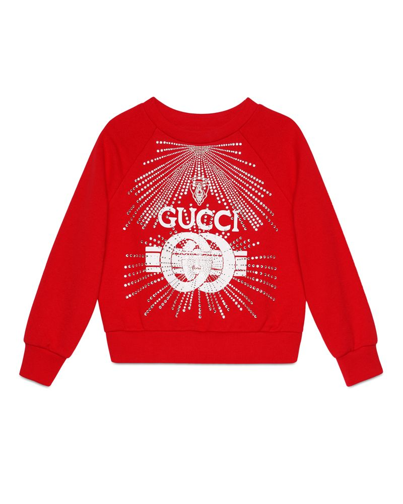 954e195b8e9 GUCCI GUCCI GIRLS SWEATSHIRT - Designer Kids Wear