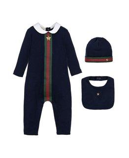 b3d49bca0 Gucci Baby Boys Gift Set. Onesies Designer Kids Wear